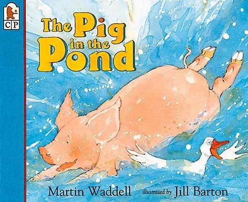 FICTION:An overheated pig who doesn't swim, throws himself into a pond, throwing the farmyard into an uproar.