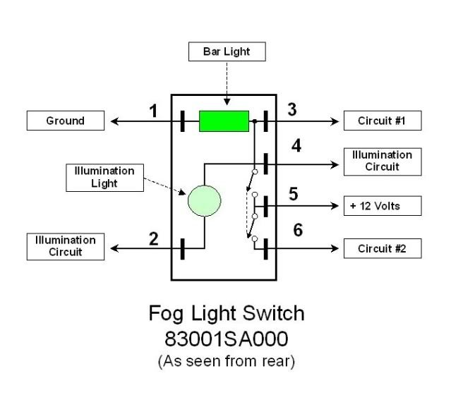 image result for subaru fog light switch diagram subaru. Black Bedroom Furniture Sets. Home Design Ideas