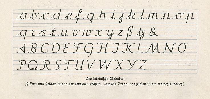 Offenbacher Schrift, das lateinische Alphabet - Ausgangsschrift – Wikipedia