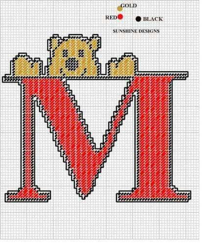 837 Best Letters In Plastic Canvas & Numbers Images On