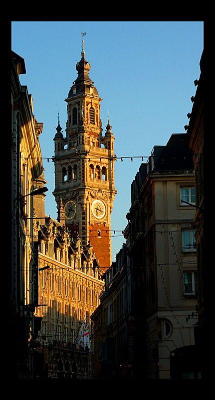 Le Beffroi de Lille - Lille, France