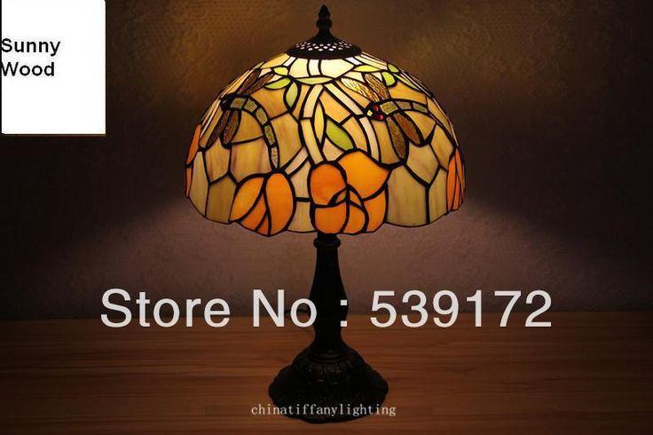 Бесплатная Доставка 12 Дюймов Shell лампа, лампа тиффани, Бесплатная 5 Вт E27 СВЕТОДИОДНЫЕ Лампы для продвижения, настольный Светильник для гостиной 90-260VAC TEN-T-063