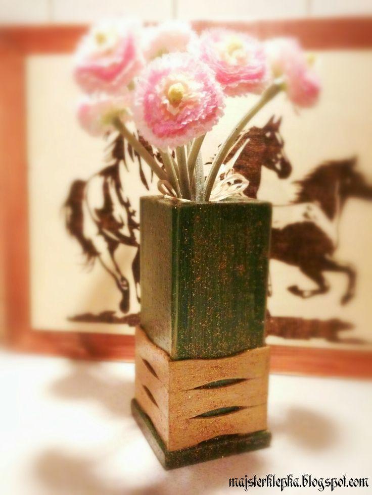 Majsterklepka - Zrób to sam: 168. Drewniany wazonik