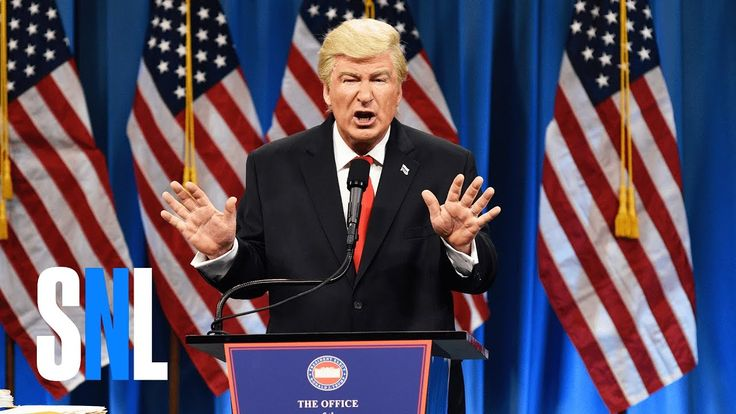 A Pissed Off Trump Fields a Steady Stream of Media Questions in an SNL Parody of His Press Conference
