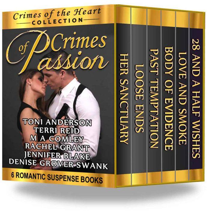 Crimes of Passion: 6 Romantic Suspense Books (A Crimes of the Heart Collection) - Kindle edition by Denise Grover Swank, Toni Anderson, Jennifer Blake, M A Comley, Terri Reid, Rachel Grant. Romance Kindle eBooks @ Amazon.com.