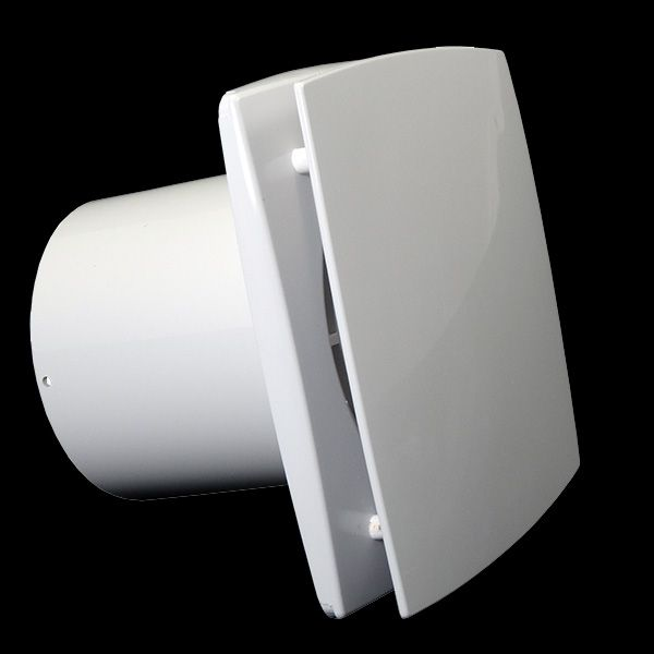 ventilátor Dalap BF boční pohled - http://www.ventilatory.cz/ventilator-s-prednim-panelem-casovym-spinacem-a-cidlem-vlhkosti-_ventilator_-472.html