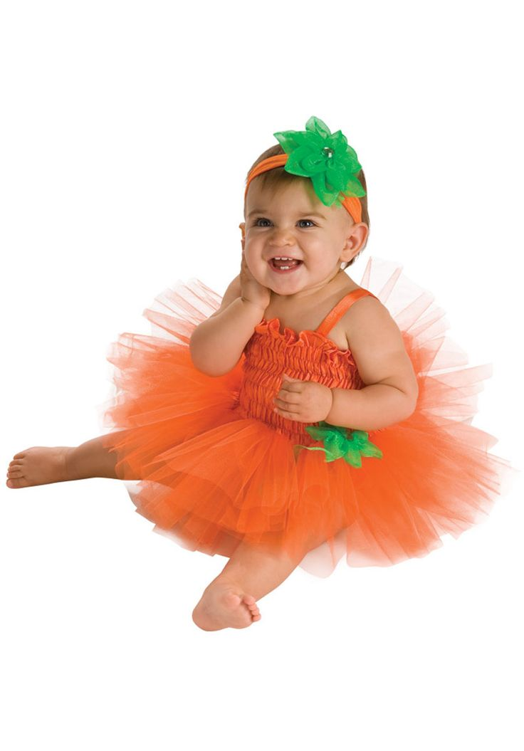 tutu pumpkin dress for newborns child halloween costumes at escapade uk escapade fancy - Walmart Halloween Costumes For Baby