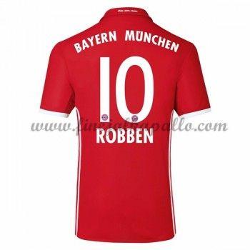 Jalkapallo Pelipaidat Bayern Munich 2016-17 Robben 10 Kotipaita