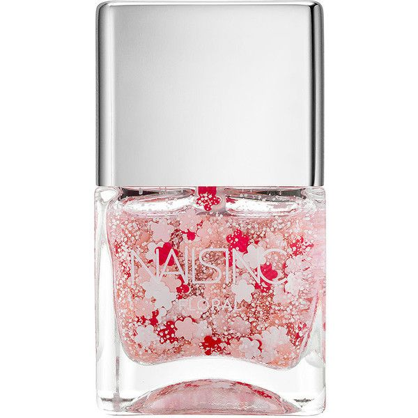 Nails inc Nail Polish, Daisy Lane Floral 0.47 oz (14 ml) ❤ liked on Polyvore featuring beauty products, nail care, nail polish, nails, beauty, makeup, fillers, shiny nail polish, nails inc. and nails inc nail polish