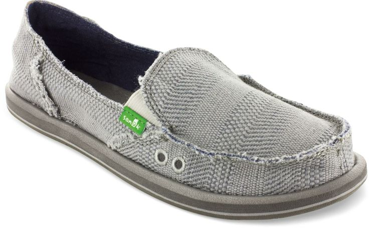 Women's Sanuk Plain Jane Shoes go with most any outfit.