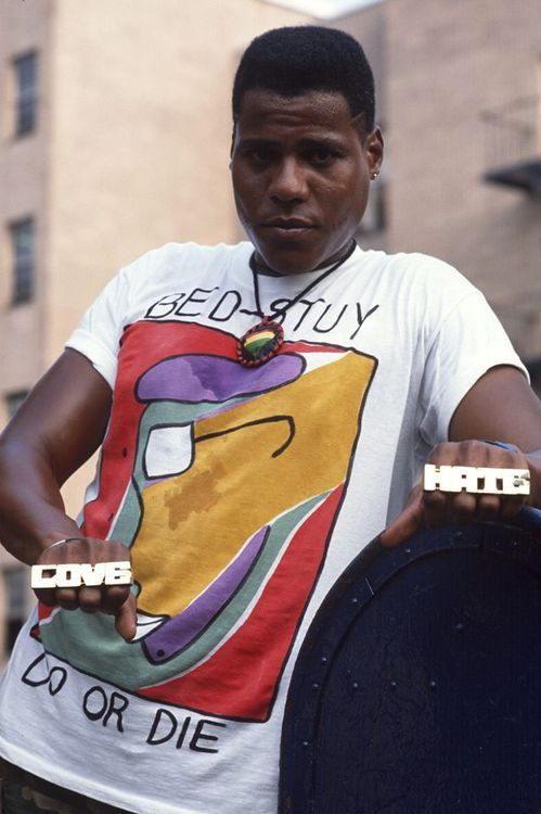 "nickdrake: "" Bill Nunn as Radio Raheem in Do The Right Thing """