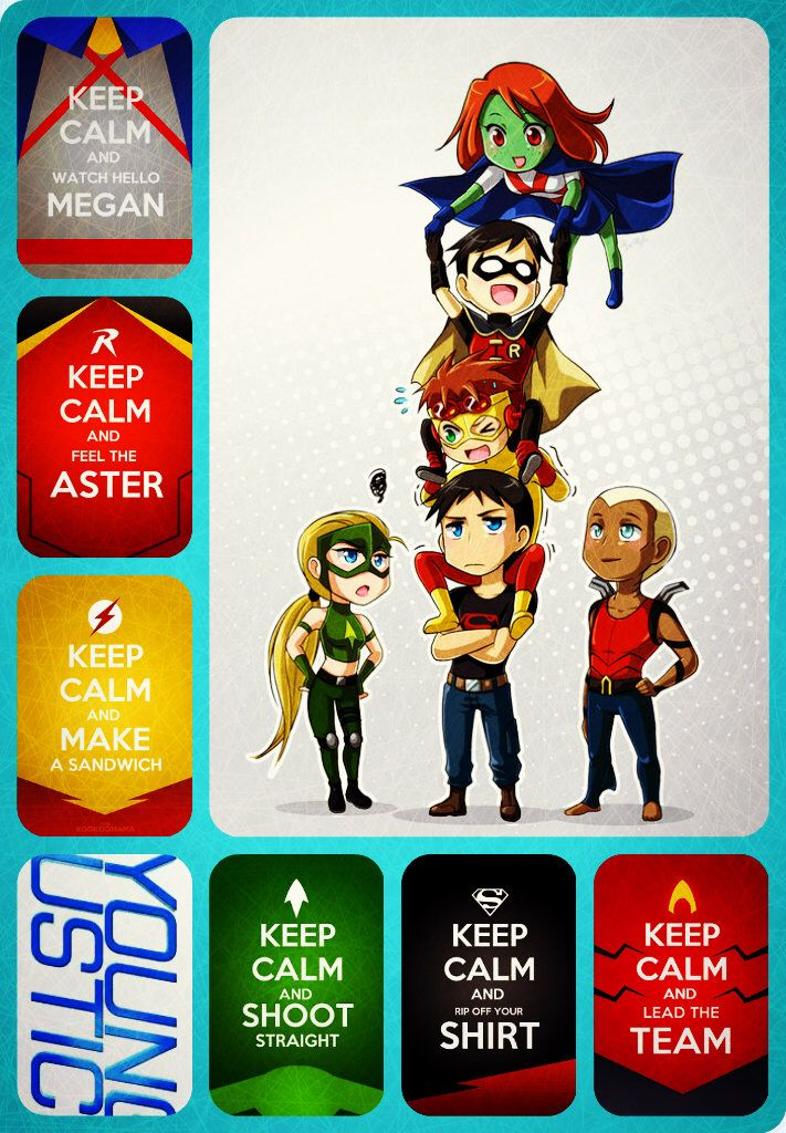 Young justice!