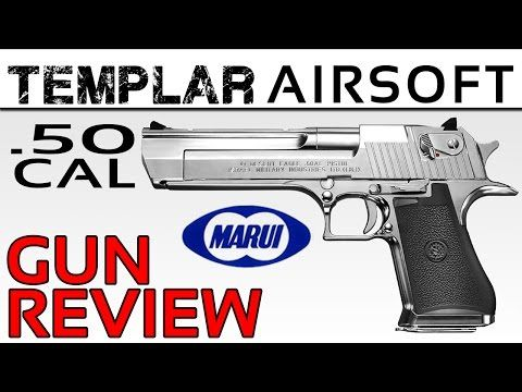 "Here I we take a look at the Tokyo Marui Desert Eagle .50 cal, Hard Kick. Finished in chrome, with a kick living up to it's ""Hard Kick"" name, this thing is a BEAST!   - See more at: http://www.templarairsoft.com/the-armoury/#sthash.NEXVBGnP.dpuf"