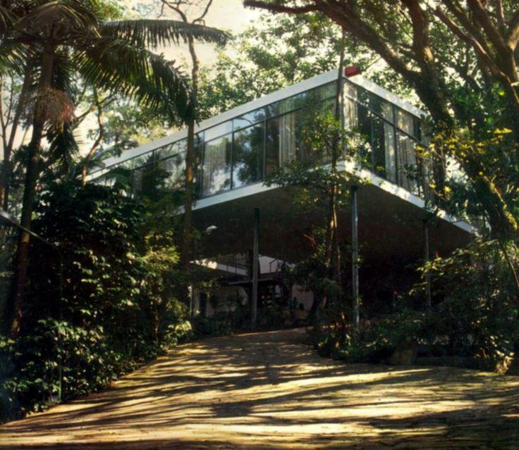 Clássicos da Arquitetura: Casa de Vidro,© wordpress casasbrasileiras