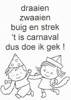Peuterthema's: Carnaval