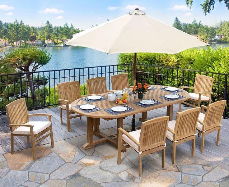 Die besten 25+ Gartentisch oval Ideen auf Pinterest Gartentisch
