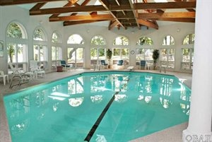 Indoor Pool at 6005 Martins Point Road, Kitty Hawk, - Brad Beacham - Coldwell Banker Seaside Realty
