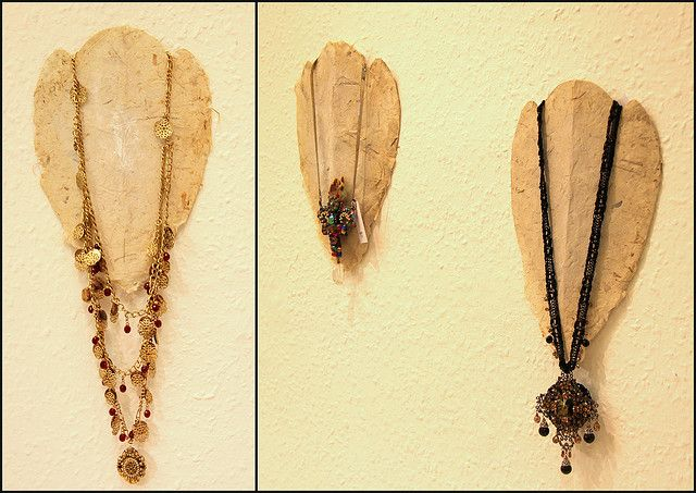 Hand-made necklace hanger | Flickr - Photo Sharing!