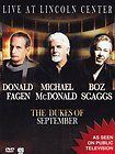 Fagen+McDonald+Scaggs - Live At Lincoln Center the Dukes Of September - DVD New