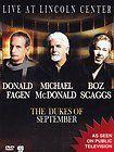 Fagen+McDonald+Scaggs - Live At Lincoln Center the Dukes Of September - DVD New