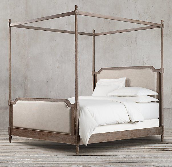 Diy Four Poster Canopy With Lights: $1769 Vienne French Four-Poster Bed