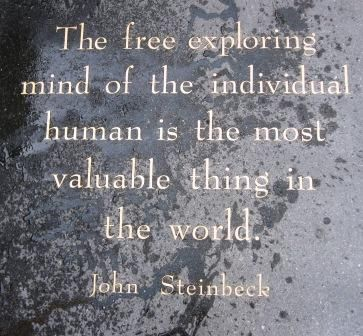 john steinbeck  quotes | Steinbeck Quote, Kerouac Alley | Flickr - Photo Sharing!