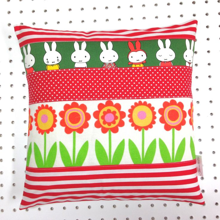 Handmade Miffy cushion