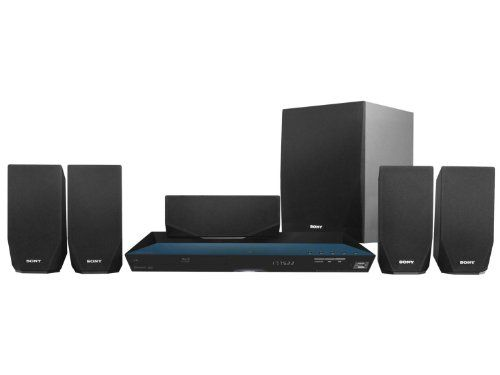 Sony BDV-E2100 3D Smart Blu-ray Home Theater System (Certified Refurbished) - With the Sony 3D Blu-ray Home Theater System (model BDVE2100) you can watch sports events or your favorite movies in vivid high-definition or in 3D, and enjoy powerful, immersive sound. Using built-in Wi-Fi, you can also stream music and movies from media websites. If you want to play the music c...
