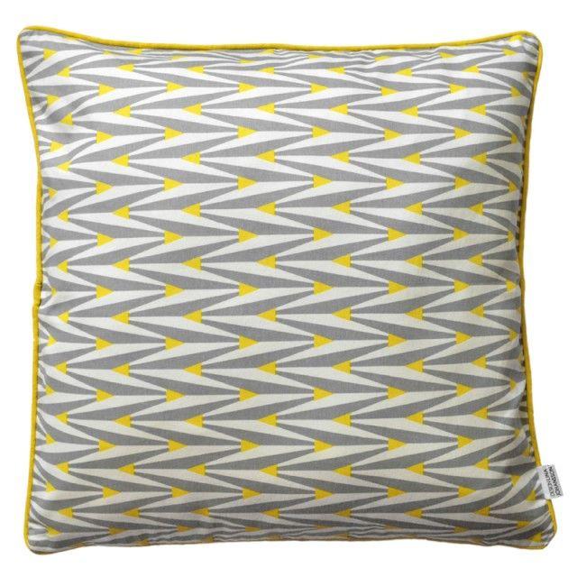 Memo - Cushion cover, yellow #nordicdesigncollective #linajohansson #cushion #pillow #yellow #trend #nordicdesign #swedishdesign