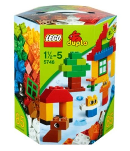 $34.90 LEGO DUPLO Creative Building Kit ~ 86 pieces 5748 Ages 1 - 5. portable box for easy pick-up
