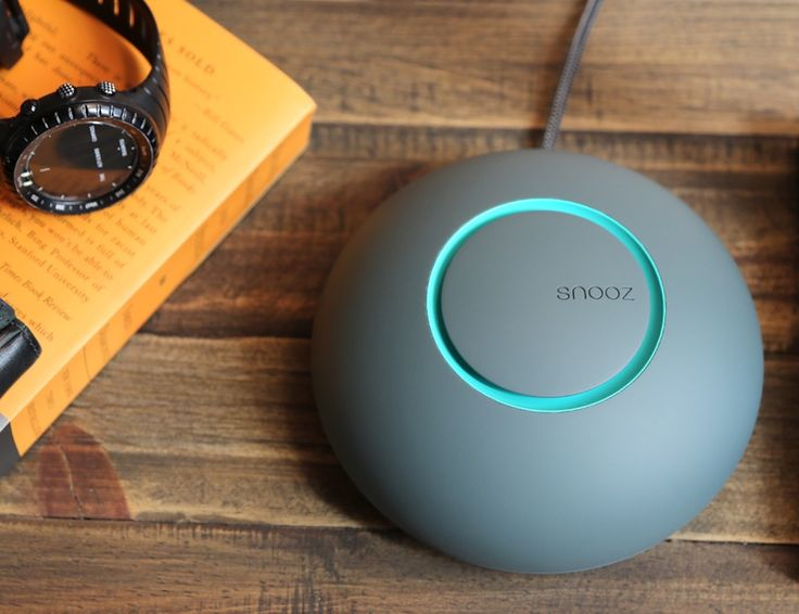 Get a restful night's sleep anywhere with Snooz, the ultra portable white noise machine. Snooz reduces the variable between noise pollution and ambient sou