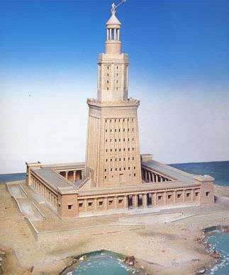 The 7 Wonders of the Ancient World : Pharos Alexandria