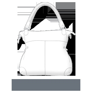 sterling & hyde custom handbags - Magnificent Multitasker $299.00    http://sterlingandhydecustom.com