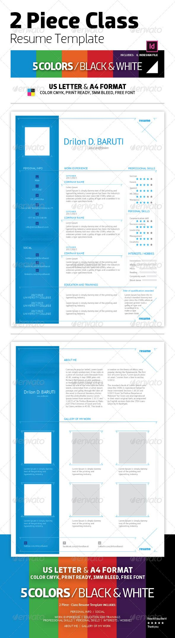 Best Simple Resume Template Images On   Resume