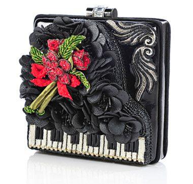 Mary Frances Beaded Baby Grand Piano Bag