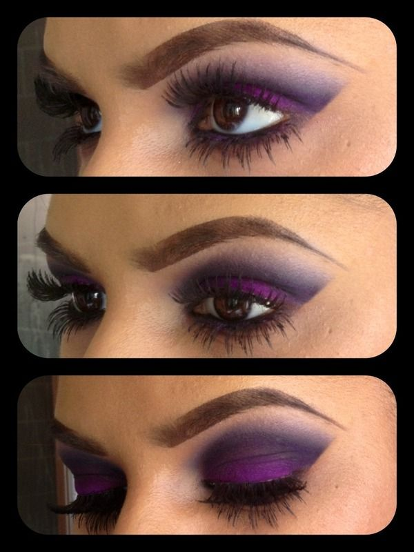 Time for Purple #makeup #maquiagem #tutorial #tips #beleza #beauty #eyes #olhos #eyeshadow #sombra #purple #roxo