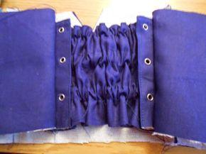 Una Lolita costurera: Tutorial: encorsetado para faldas y vestidos