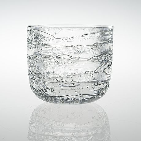 Timo Sarpaneva: Archipelago glass bowl for Iittala.