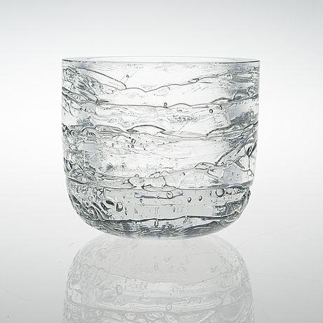 Timo Sarpaneva: Archipelago glass bowl for Iittala.