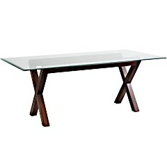 Rectangle Glass Table TOP   X Pier 1 Dining Room!