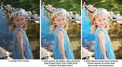 more photoshop action tips