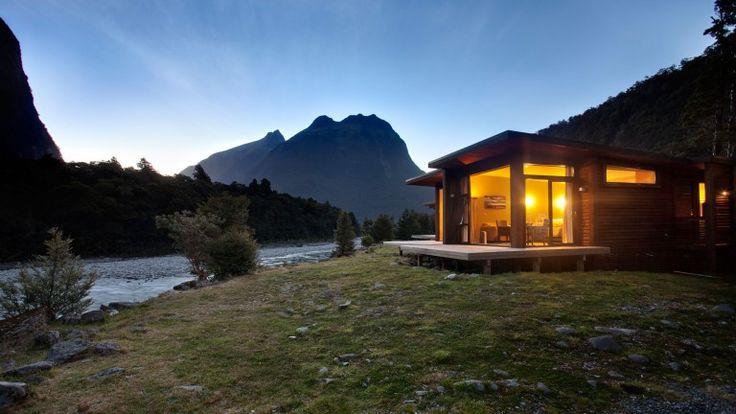 Milford Sound Accommodation - Premium Riverside Chalet