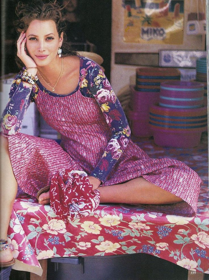☆ Christy Turlington | Photography by Arthur Elgort | For Vogue Magazine US | April 1993 ☆