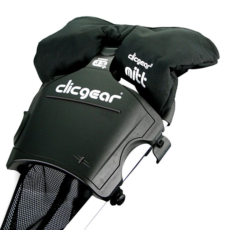 Ideal for cooler climates these waterproof and windproof golf cart mittens by Clicgear will ensure your hands remain toasty warm on the golf course!