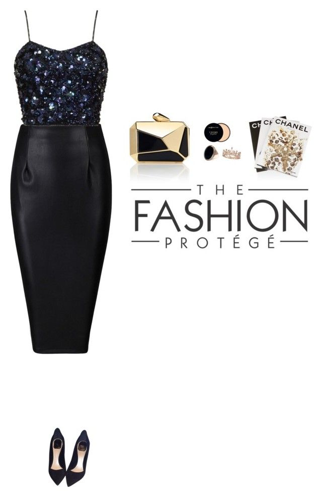 """Без названия #1719"" by anastasiiastyles ❤ liked on Polyvore featuring Christian Dior, Max Factor and Assouline Publishing"