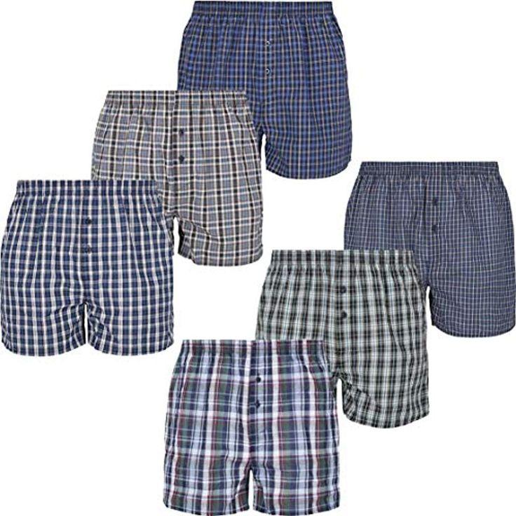 Mctam Herren Boxershorts Men 6er Pack Unterwäsche Unterhosen Männer American K…