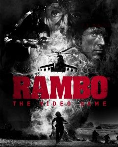 Rambo: The Video game developed by Teyon and distributed by Reef Entertainment is a rail shooter video game that uses on rails arcade as its game plot. The game character is John Rambo from the Rambo film series. The basis of the gameplay is the scenes from Rambo First Blood, First Blood Part II and III.  The game producer Machinima released the trailer of game along with montages of previous Rambo movies. This game was supposed to be released in 2013 but was delayed till early 2014.