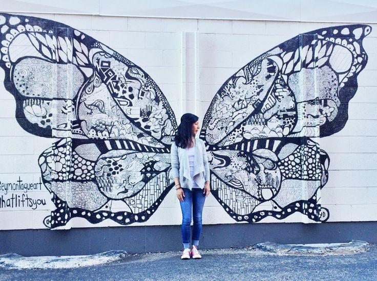 Denver street art. #whatliftsyou  artist: Kelsey Montague