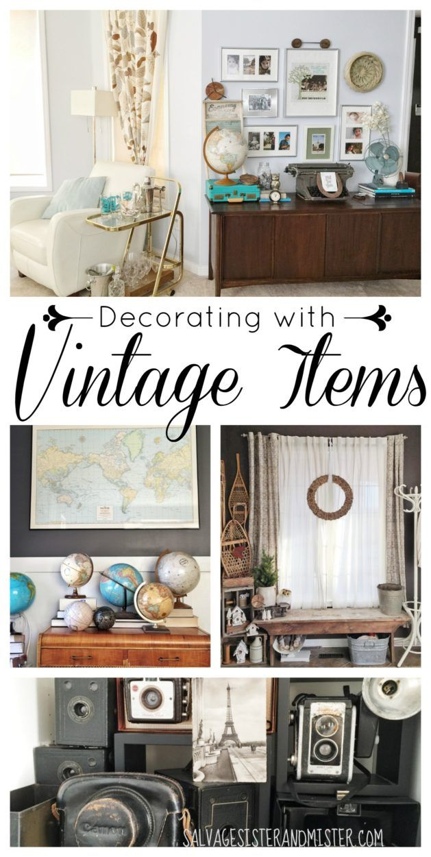 Decorating with Vintage Items – Home Tour