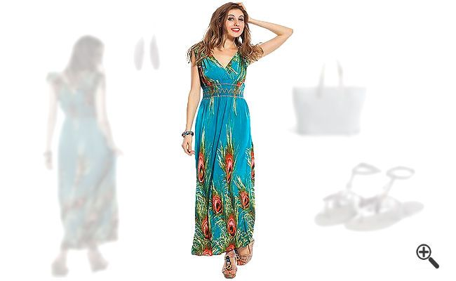 Strandkleider in große Größen + 3 Sommer… www.kleider-deal…. #Strandkleid…
